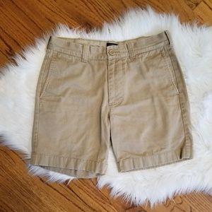 J Crew Reade Khaki Shorts 29 Waist